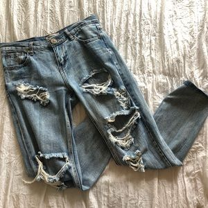 One Teaspoon Jeans Awesome Baggies Size 25